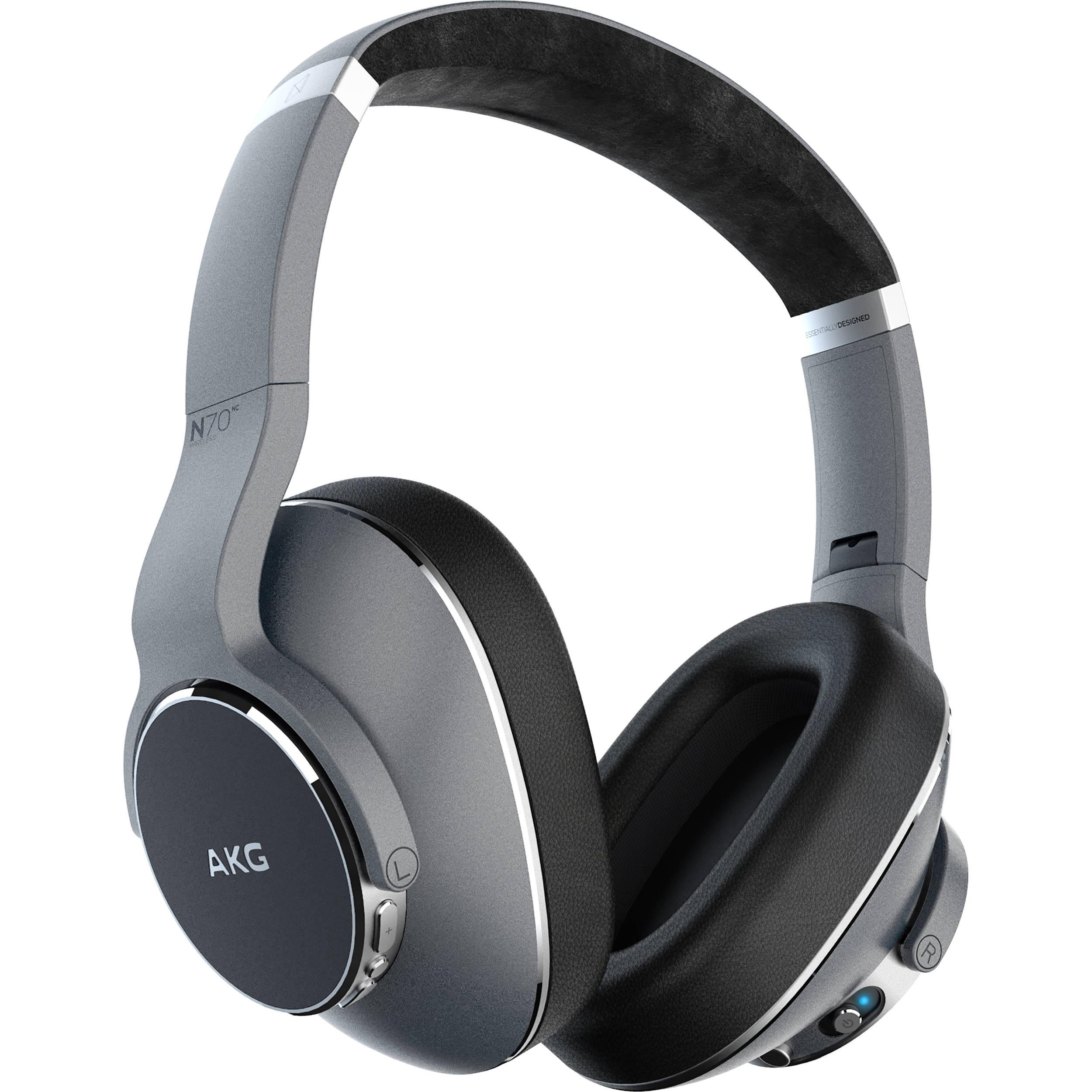 AKG N700NC Adaptive Noise Cancelling Over-Ear Wireless Headphones