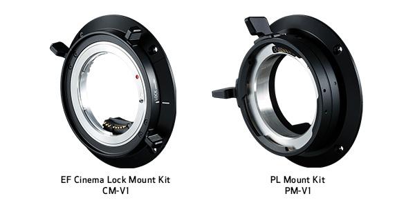 Locking EF & PL Lens Mount Kits