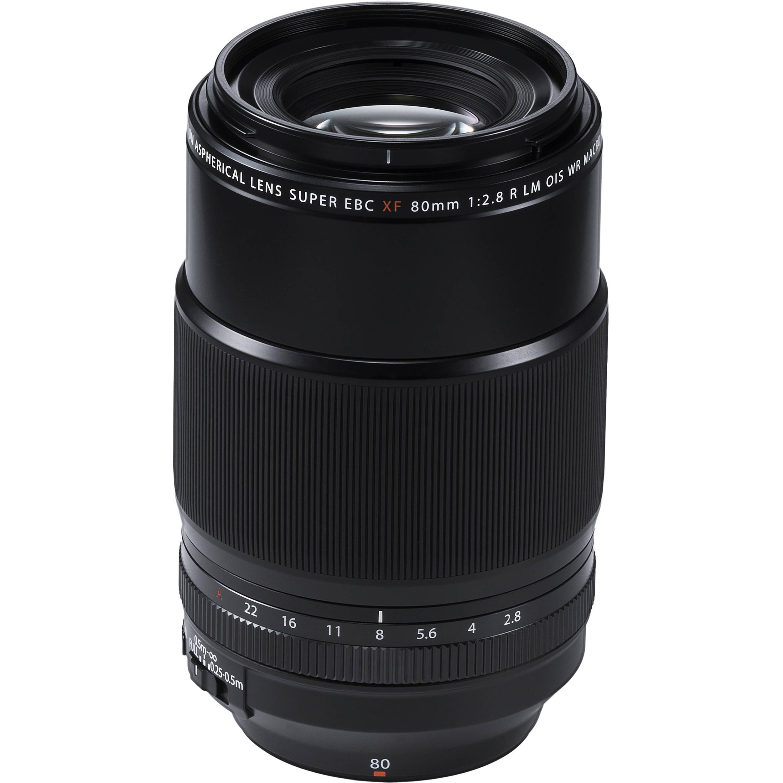 Fujifilm Xf 80mm F 28 R Lm Ois Wr Macro Lens 16559168 Bh Photo 7artisans 12mm For Fuji Black