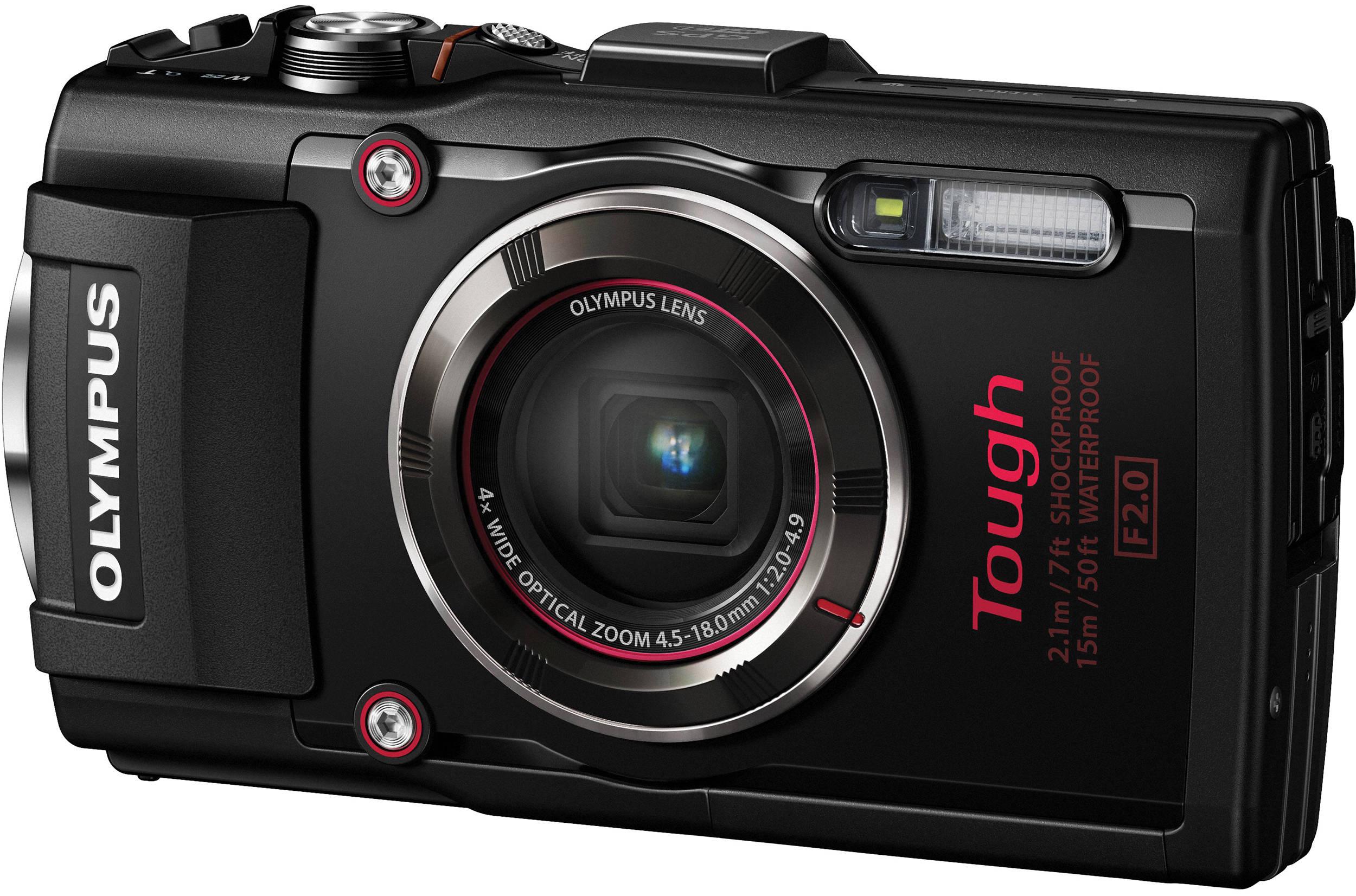 Olympus Stylus Tough Tg 4 Digital Camera
