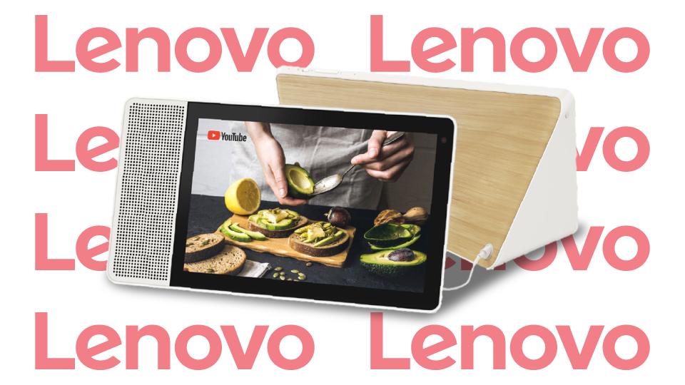 """Lenovo 10.1"""" Smart Display"""