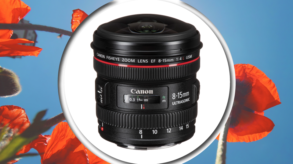 Canon's EF 8-15mm f/4L Fisheye USM lacks filter threads and has large, fishbowl-like front elements, making it difficult to filter. This is where oversized slip-on filter holder systems come into the picture.