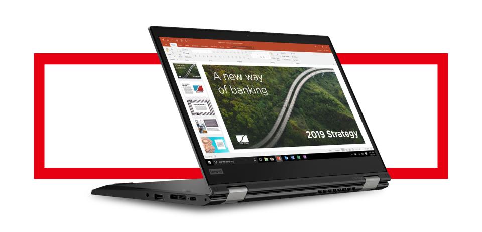 "Lenovo 13.3"" ThinkPad L13 Yoga Gen 2 Multi-Touch 2-in-1 Laptop"