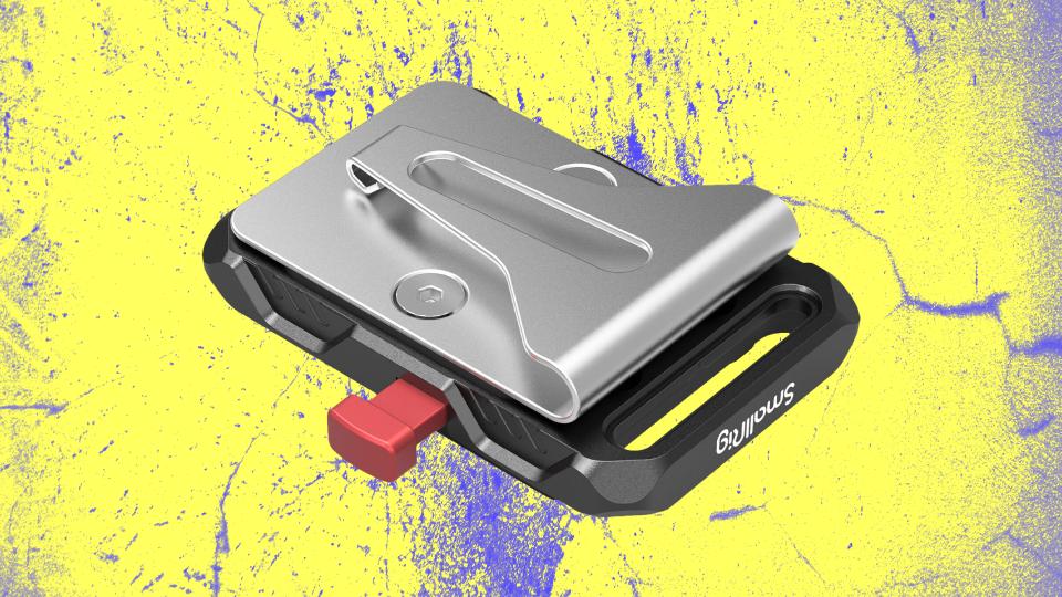 SmallRig Mini V-Lock Battery Plate with Belt Clip
