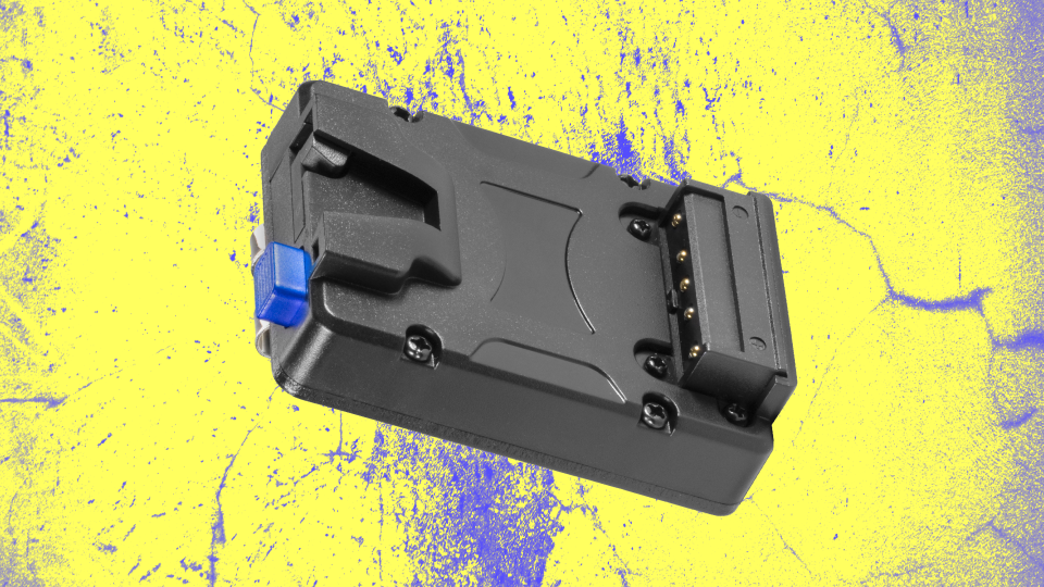Watson Pro Micro V-Mount Battery Plate with Belt Clip