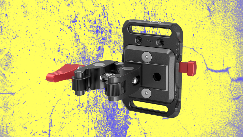 SmallRig Mini V-Lock Battery Plate with Claw-Shaped Clamp