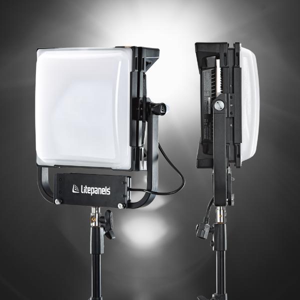 1x1 Hard RGBWW LED Pane w/ Dome Diffuser