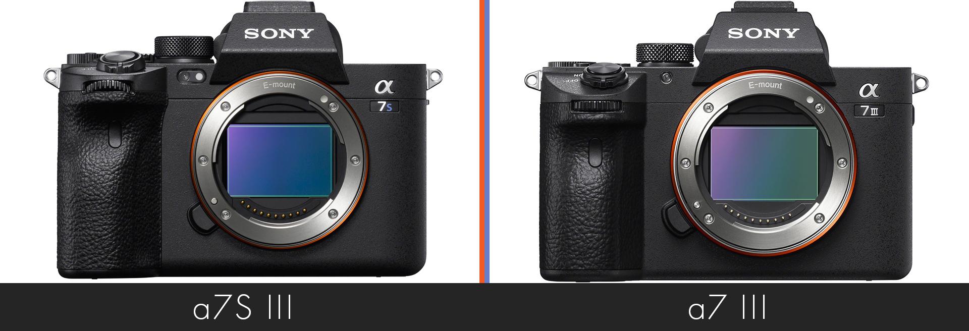 a7S III versus Sony a7 III