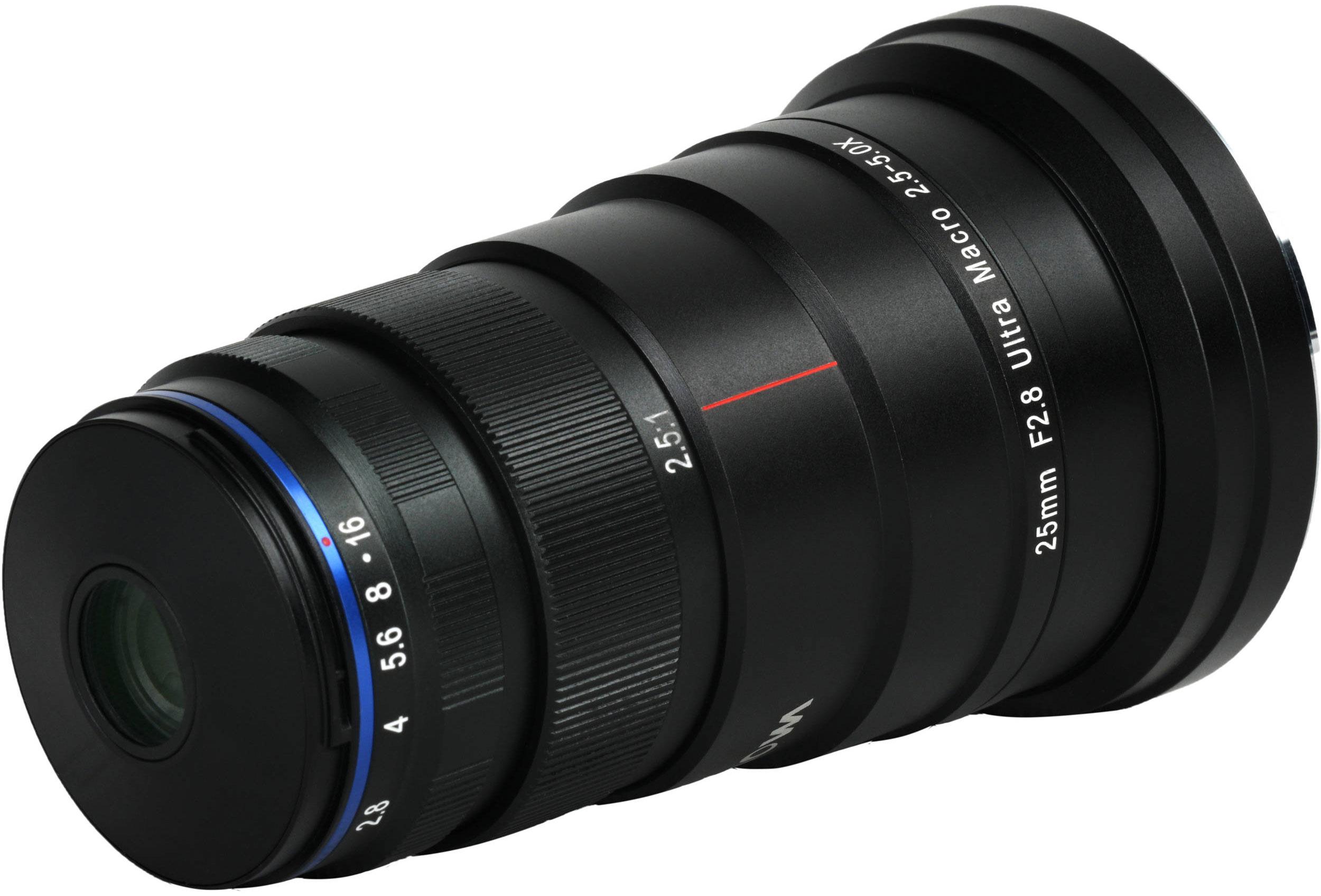 Venus Optics Laowa 25mm f/2.8 2.5-5X Ultra Macro Lens