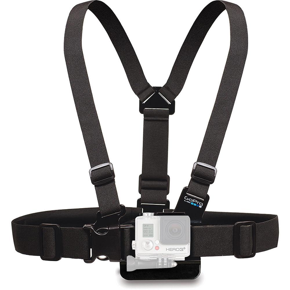for GoPro HD Hero Camera Adjustable dogs Pets Harness Back /& Chest Belt Mount UK