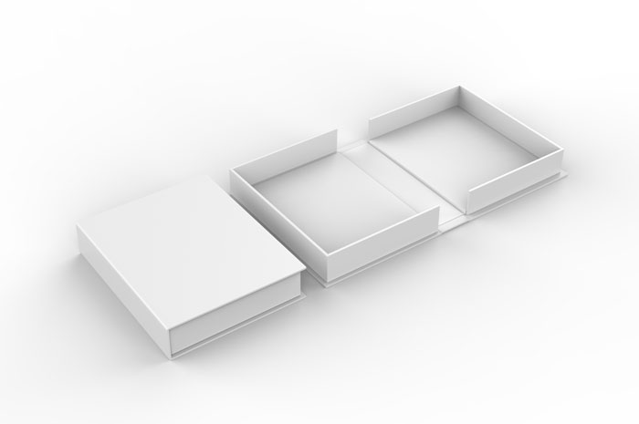 Clamshell boxes provide an extra layer of protection for your book.