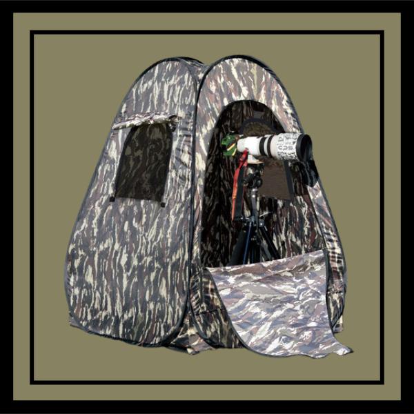 Japan Hobby Tool Photographer's Camouflage Tent II
