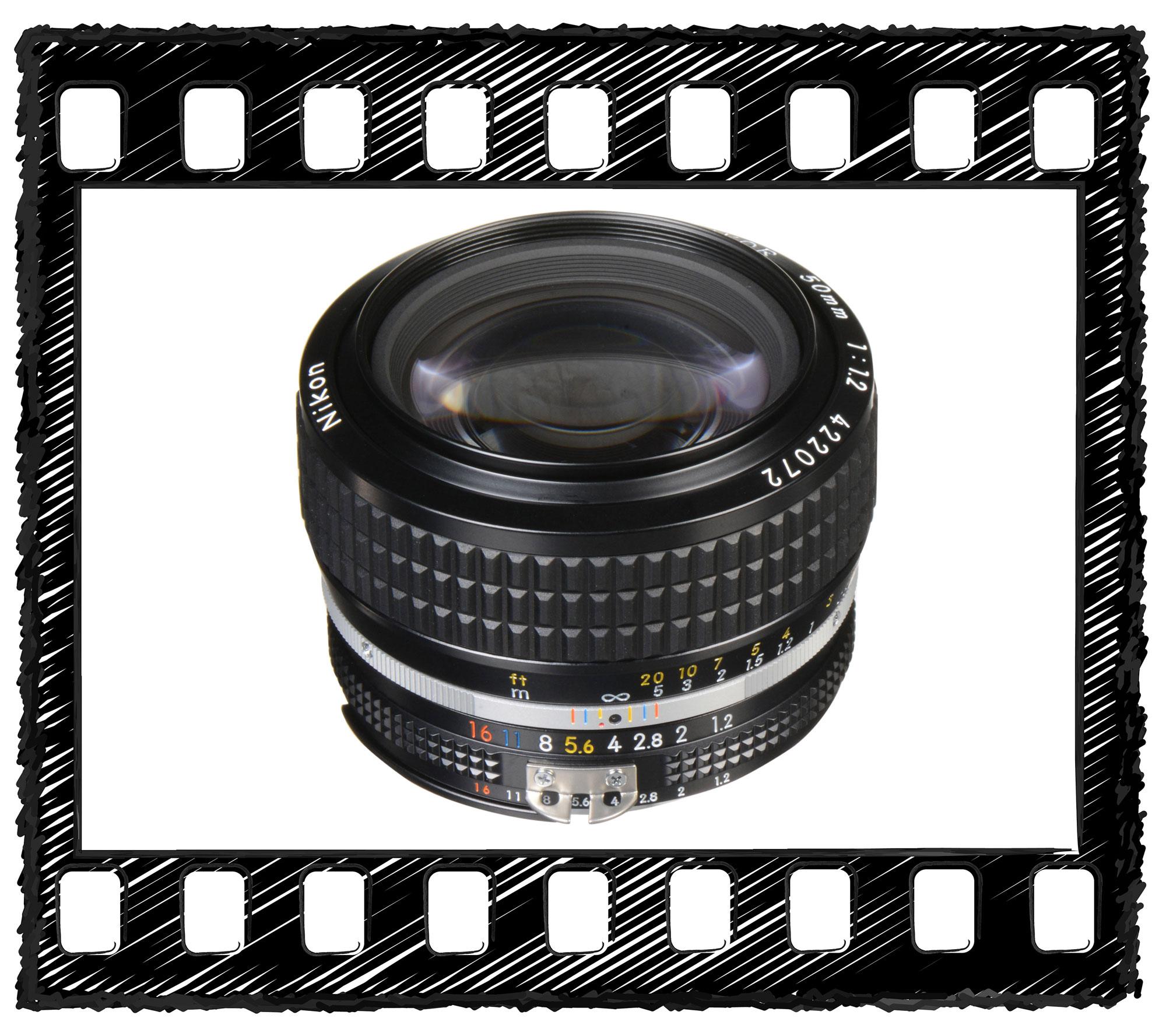 Nikon NIKKOR 50mm f/1.2 Lens