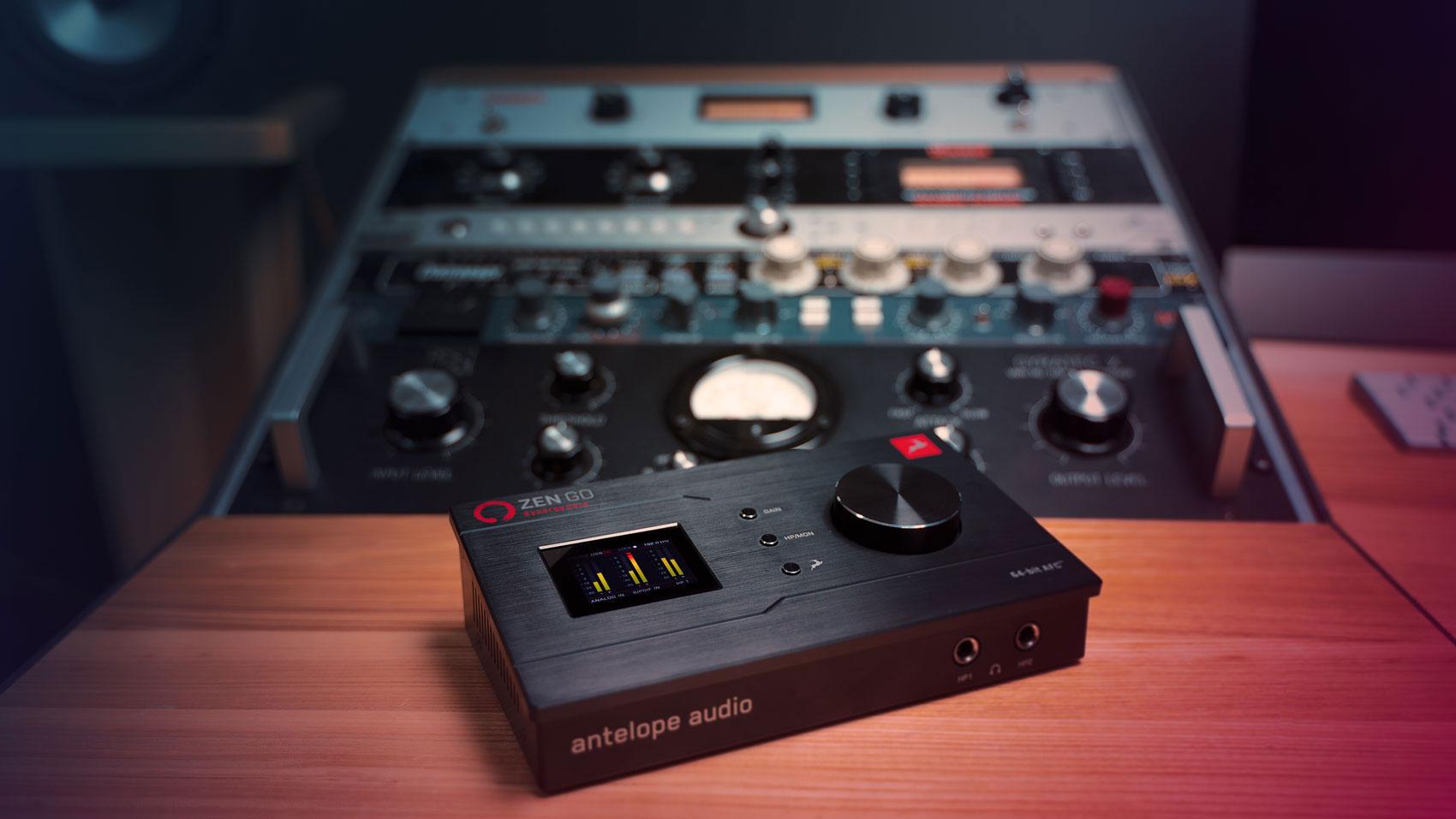 Antelope Zen Go Synergy Core Desktop 4x8 USB Type-C Audio Interface