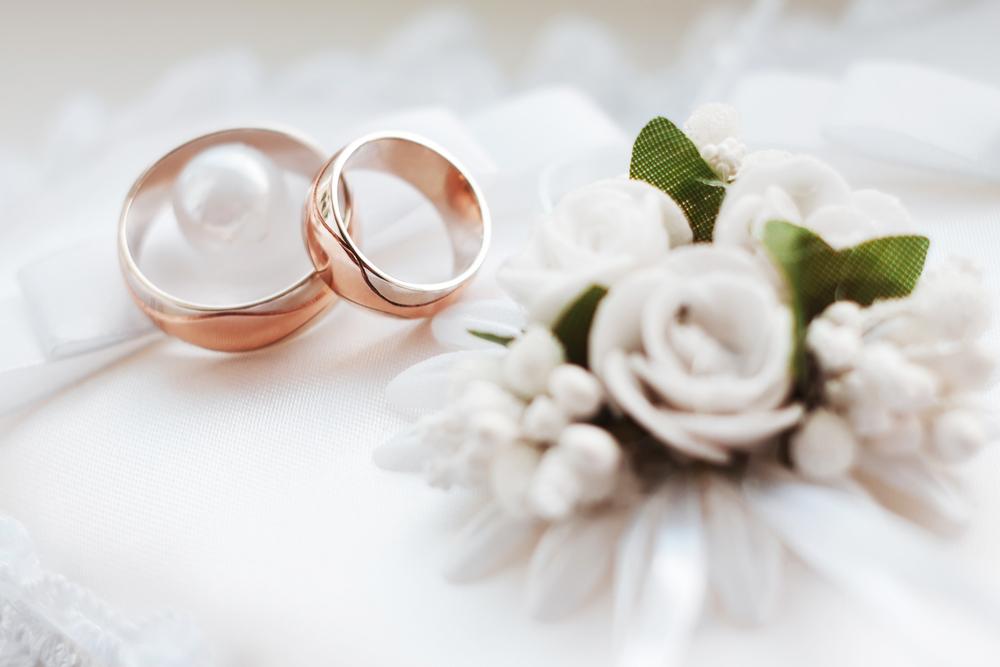 Свадьба цветы кольца, дольше сохранить