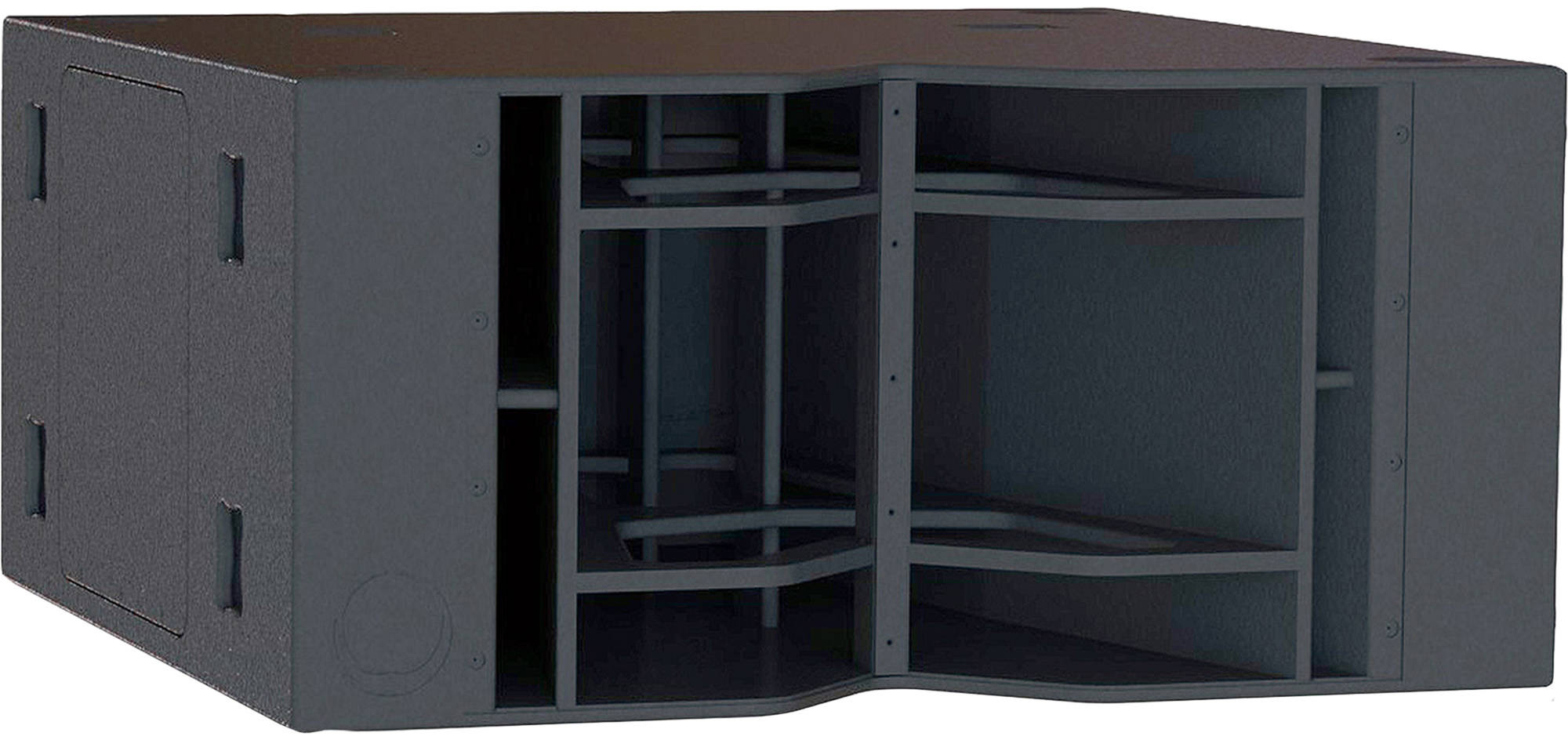 """Turbosound Flashline Series TFS-900B Dual 18"""" Horn Loaded Subwoofer for Touring Applications"""