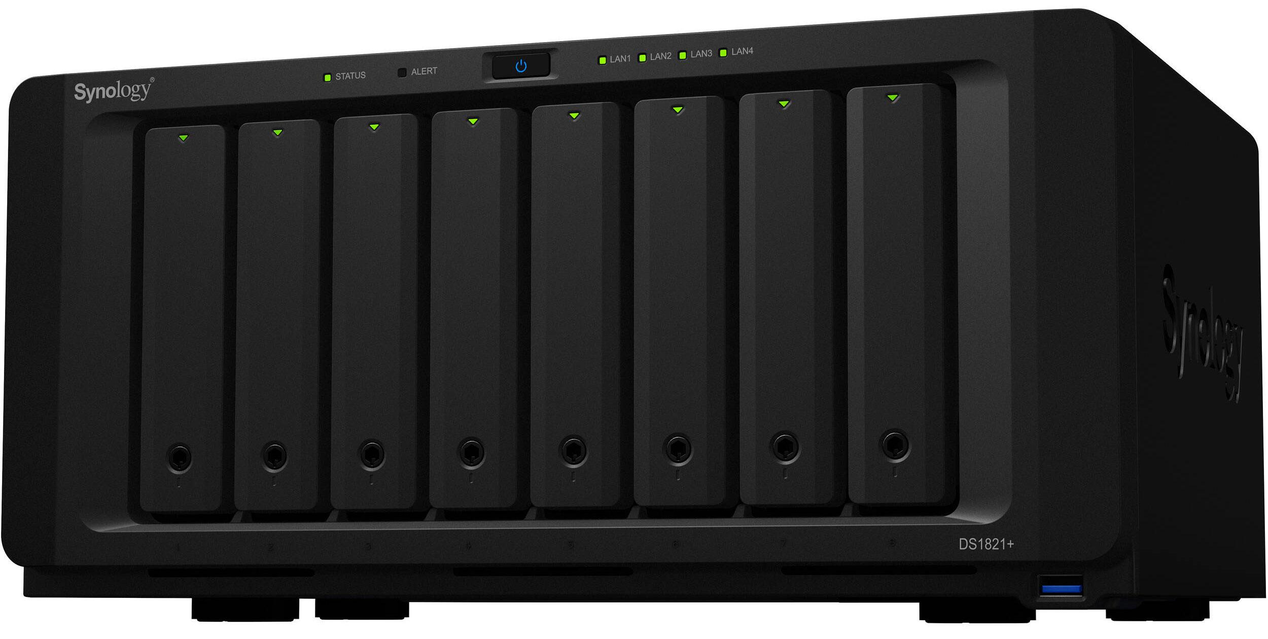 Synology DiskStation DS1821+ 8-Bay NAS Enclosure