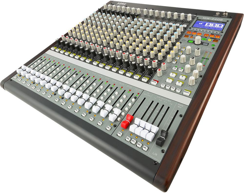 Korg SoundLink MW-2408 Hybrid Analog/Digital Mixer