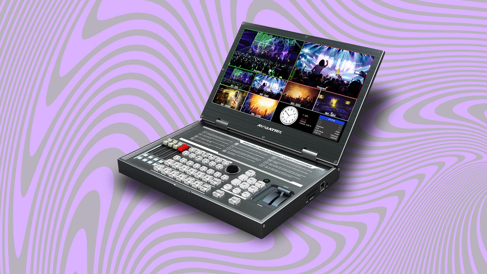 AVMATRIX PVS0615 Portable 6-Channel Video Switcher