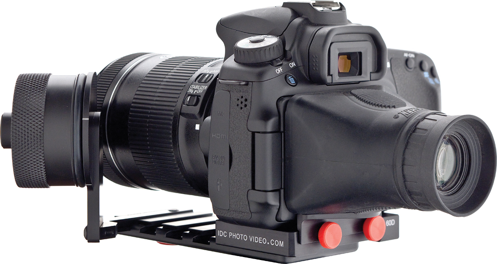 Follow Focus with Viewfinder for Canon 60D | B&H Explora