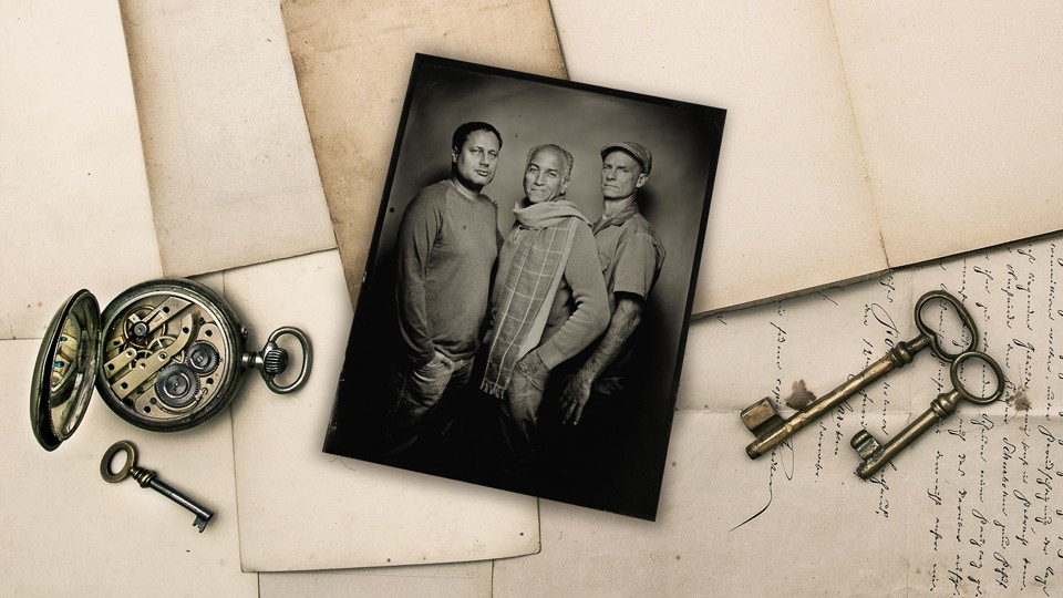 Allan Weitz, John Harris, and Jason Tables are the personalities behind the B&H Photography podcast (portrait by Geoffrey Berliner).
