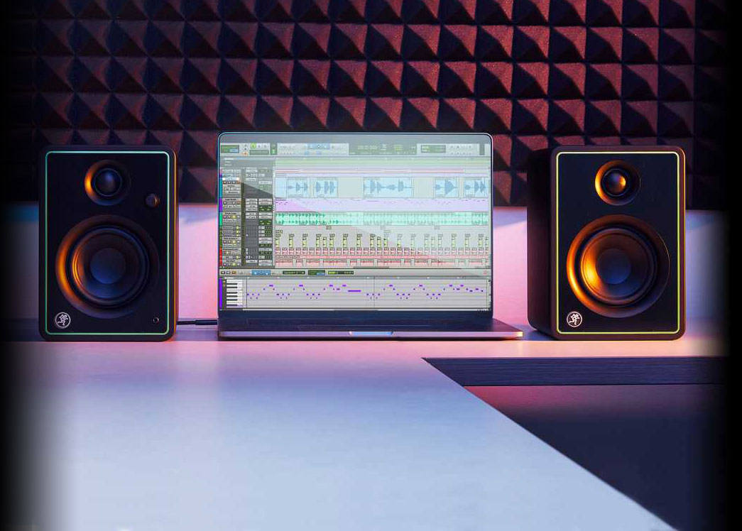 """Mackie CR3-X Creative Reference Series 3"""" Multimedia Monitors"""