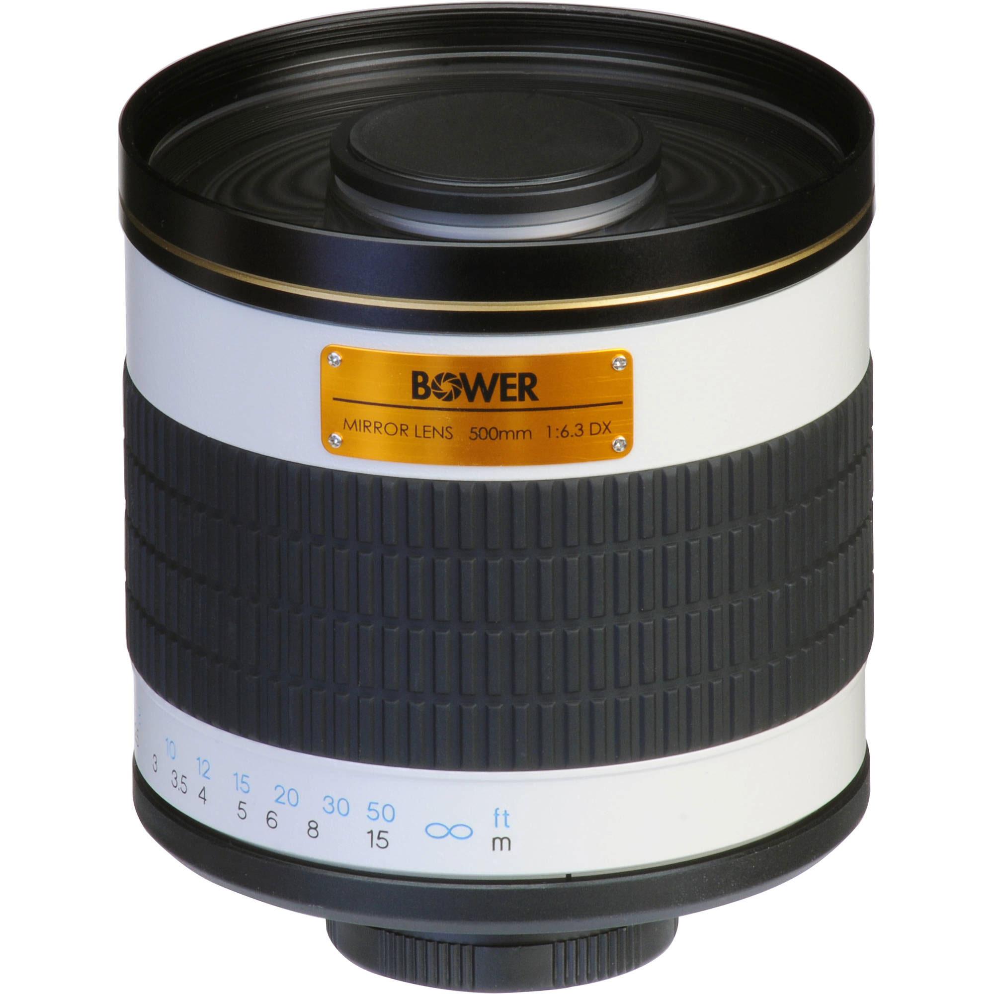 Bower 500mm f/6.3 DX Mirror Lens
