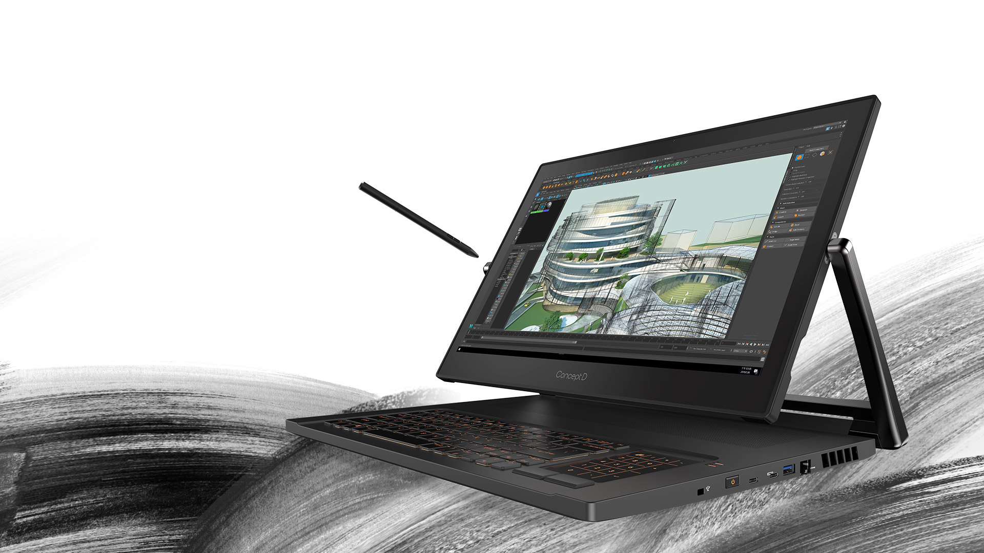 """Acer Concept D 9/ i9-9980HK/ 32GB/ 1TB SSD/ RTX 2080/ Windows 10 Home/ 17.3"""" 4K Uhd Touch"""