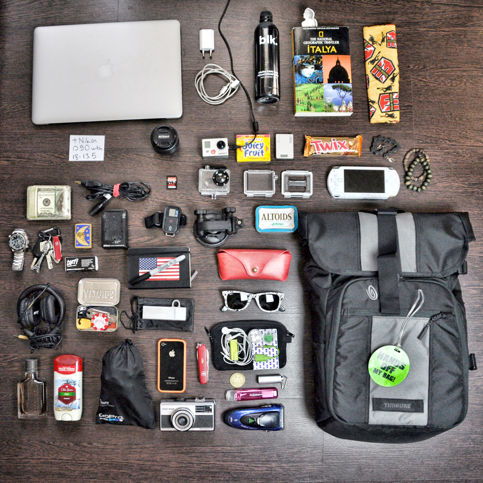"Highlights from the Timbuk2 ""What's In My Bag"" Tumblr"