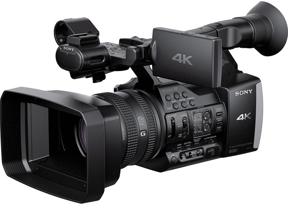 Sony FDR-AX100 4K Handycam | B&H Explora