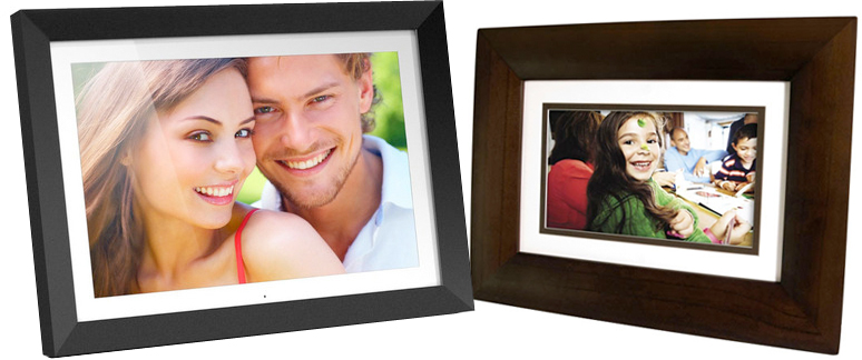 if you arent satisfied with the single digit frames discussed above then the large aluratek admpf119 19 digital photo frame may be the one youve been