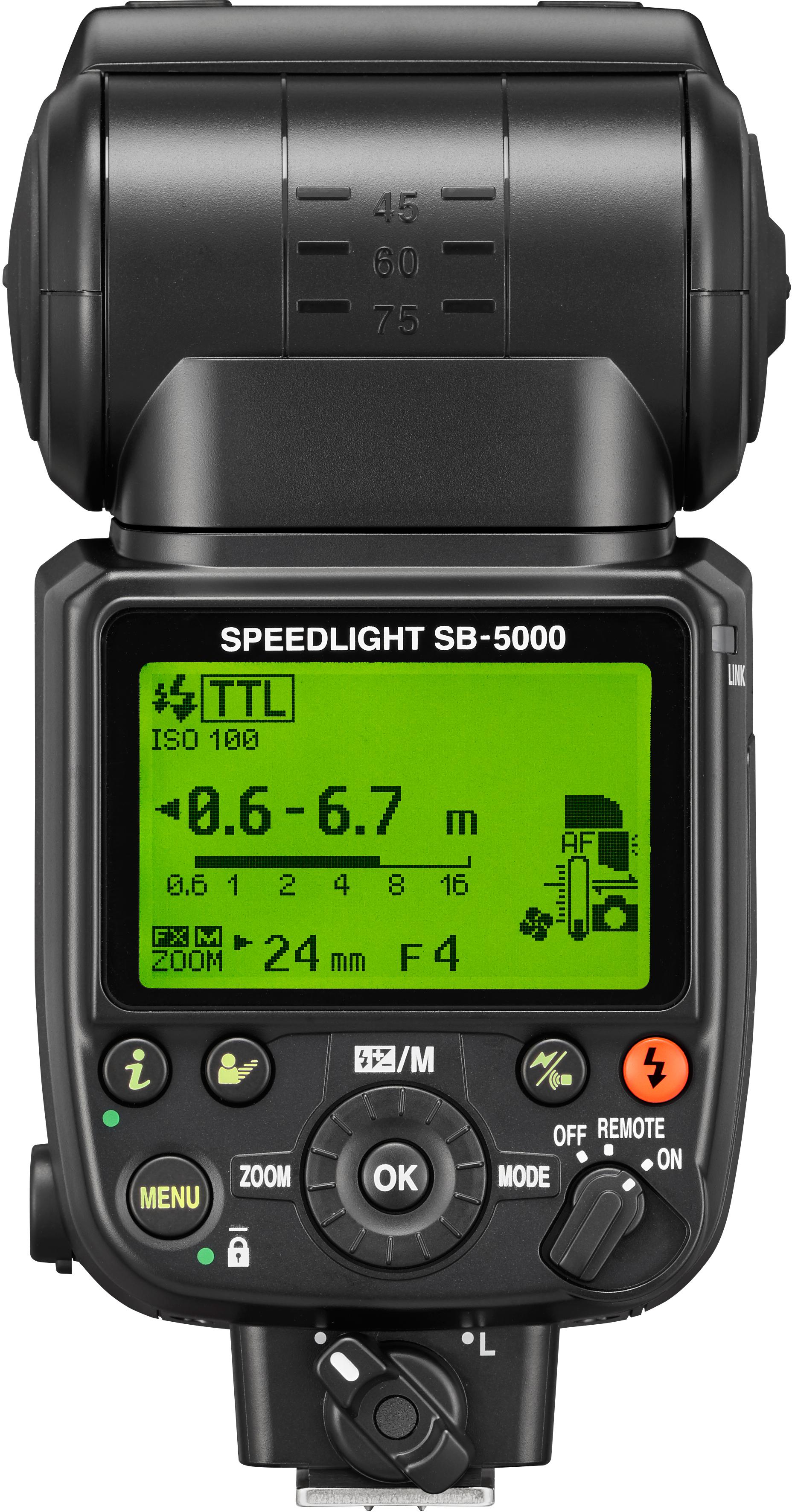 Unveiled nikon 39 s 4k capable d5 dx format d500 radio for Flash nikon sb 500