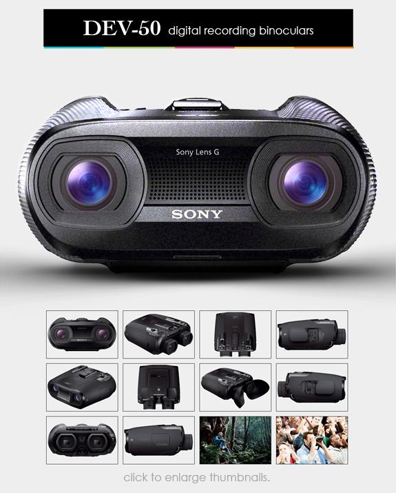 Sony Recording Binoculars Recording Binocular Sony