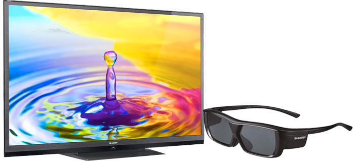 sharp 80 flat panel tv aquos quattron 3d. For The Ultimate Viewing Experience, Consider Sharp LC-80LE844U 80\u201d Aquos Quattron Smart 3D LED TV. Did You Know That An 80-inch TV Provides More Than 80 Flat Panel Tv 3d L