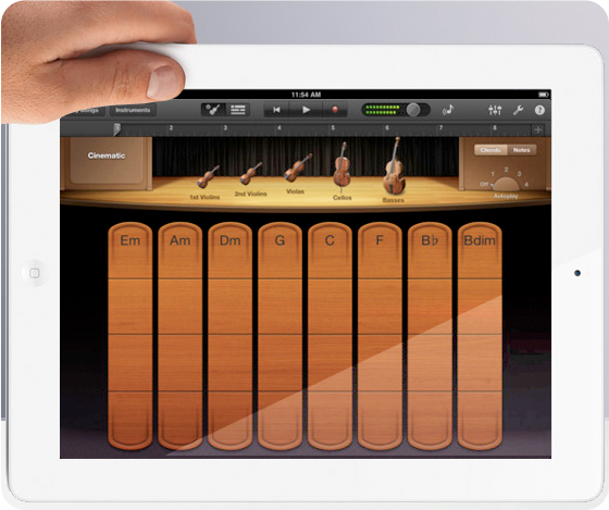 hands on review garageband on the new ipad explora. Black Bedroom Furniture Sets. Home Design Ideas