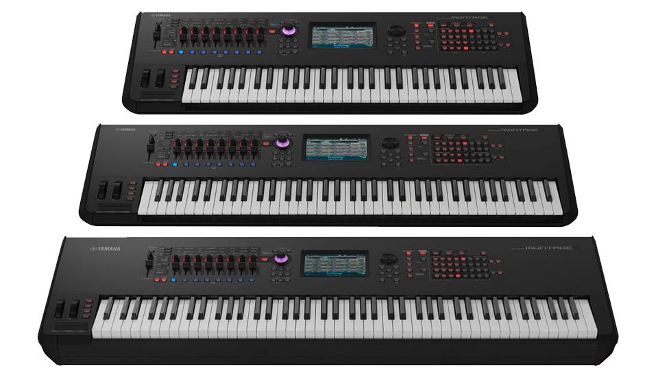 Unveiled: Yamaha Montage, Flagship Workstation Synthesizer | explora: www.bhphotovideo.com/explora/audio/news/unveiled-yamaha-montage...