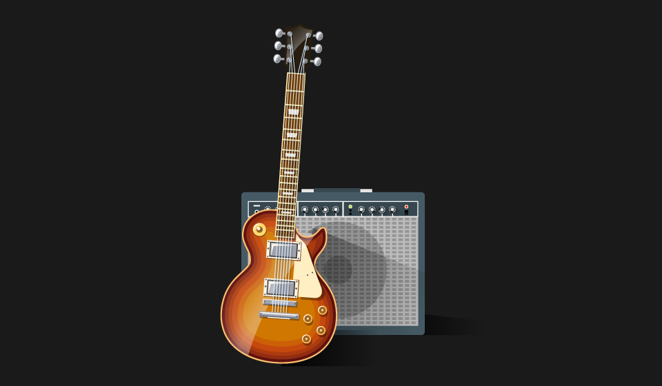 The sound of a guitar can be Guitar