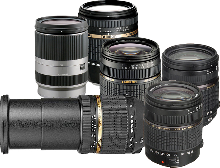 Tamron Lenses for Full Frame, APS-C and Mirror-less Camera Systems ...