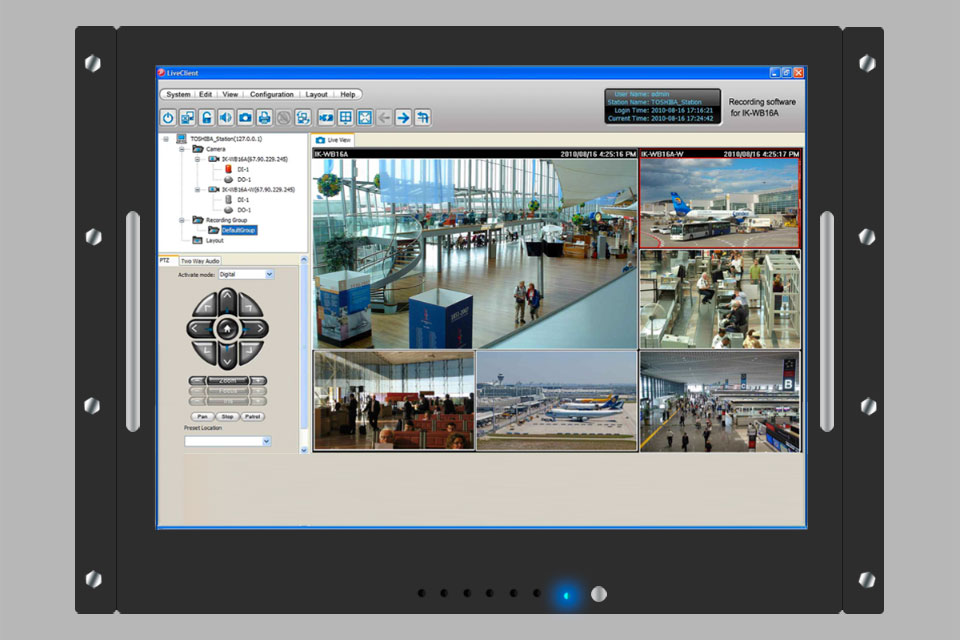free ip camera recording software