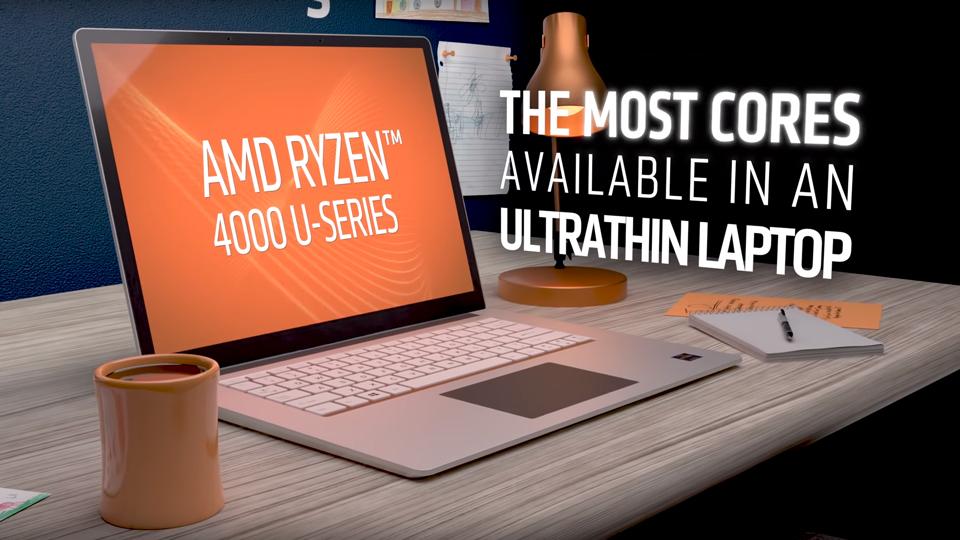 AMD Ryzen™ 4000 Series Mobile Processors