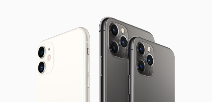 iPhone 11, iPhone 11 Pro and ProMax