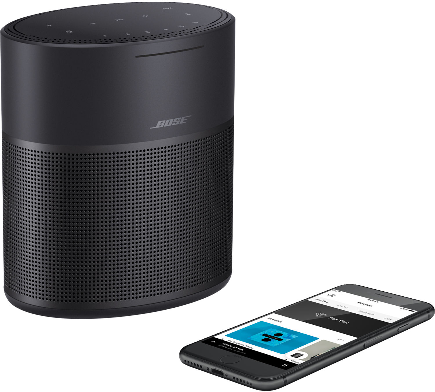 Bose® Music app connects the Home Speaker 300 to other compatible Bose® speakers