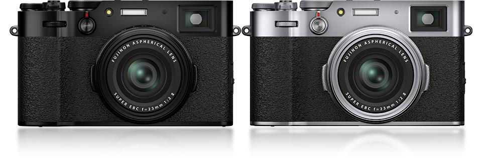 FUJIFILM X100V comes in two colors, black or white.