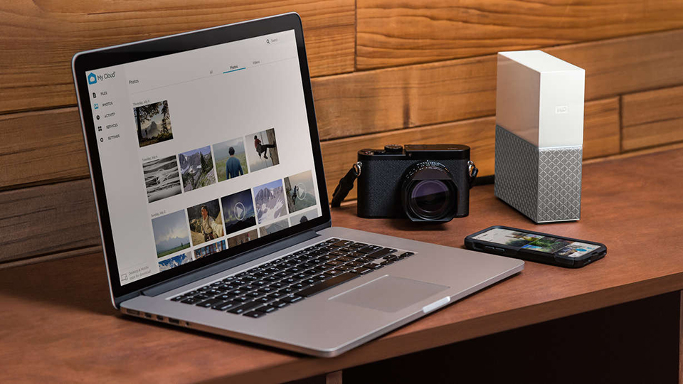The New WD My Cloud Home: Wireless Cloud Connectivity   B&H Explora