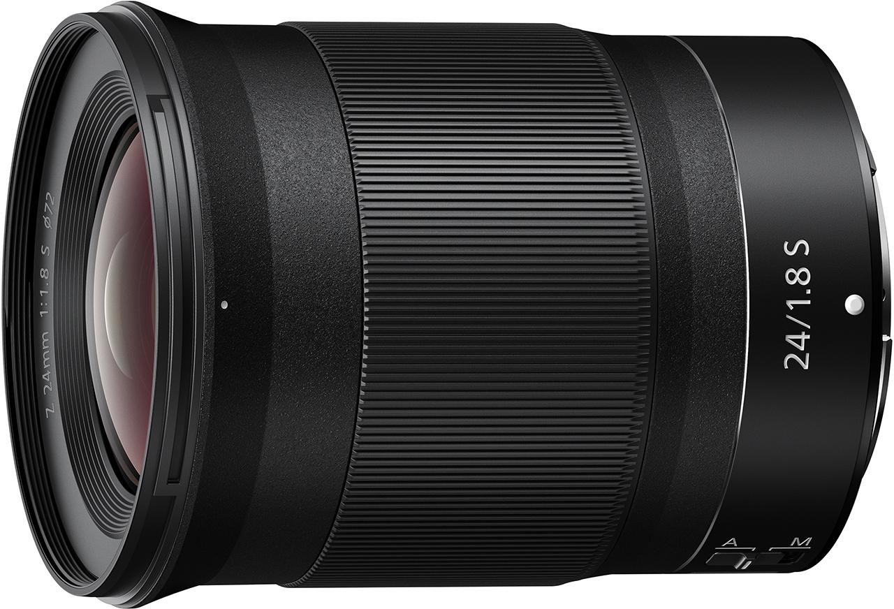 Nikon Announces NIKKOR Z 24mm f/1.8 S Lens