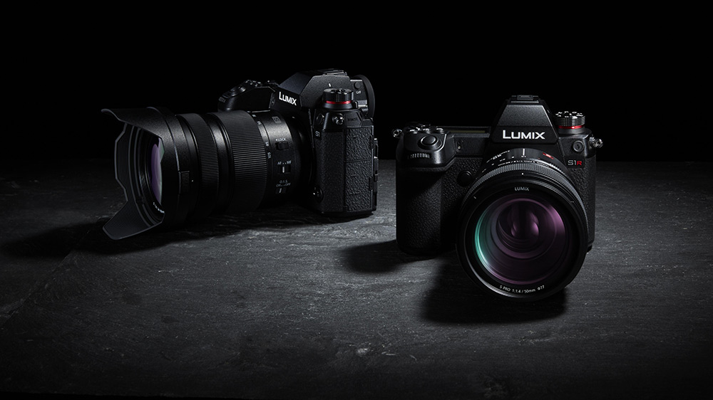 Lumix S1 and S1R