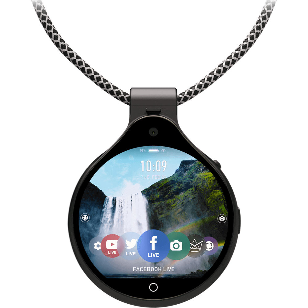Announcing new hands free frontrow pendant camera bh explora frontrow live streaming pendant camera mozeypictures Image collections