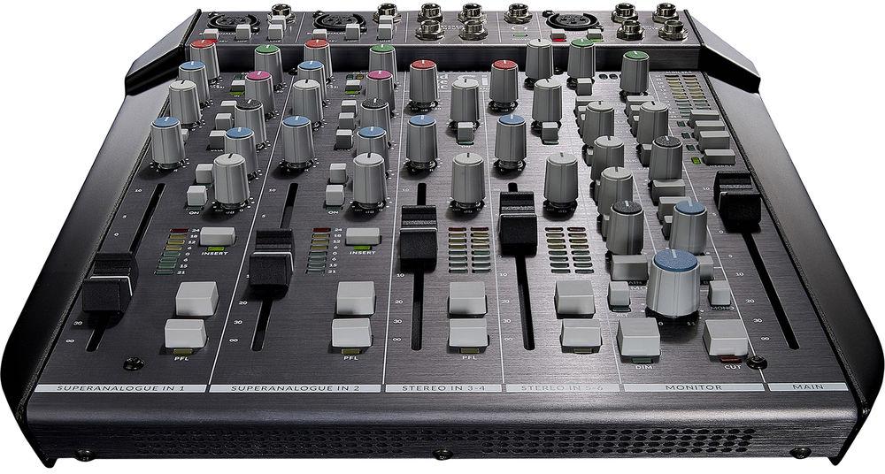 Solid State Logic SiX 4-Channel SuperAnalogue Desktop Mini Mixer