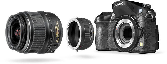 Adapters for Mirrorless Cameras