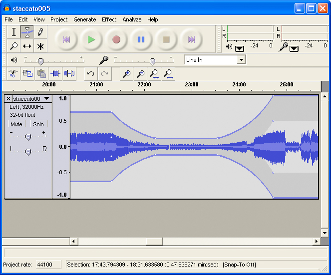 how to use audacity to record vinyl